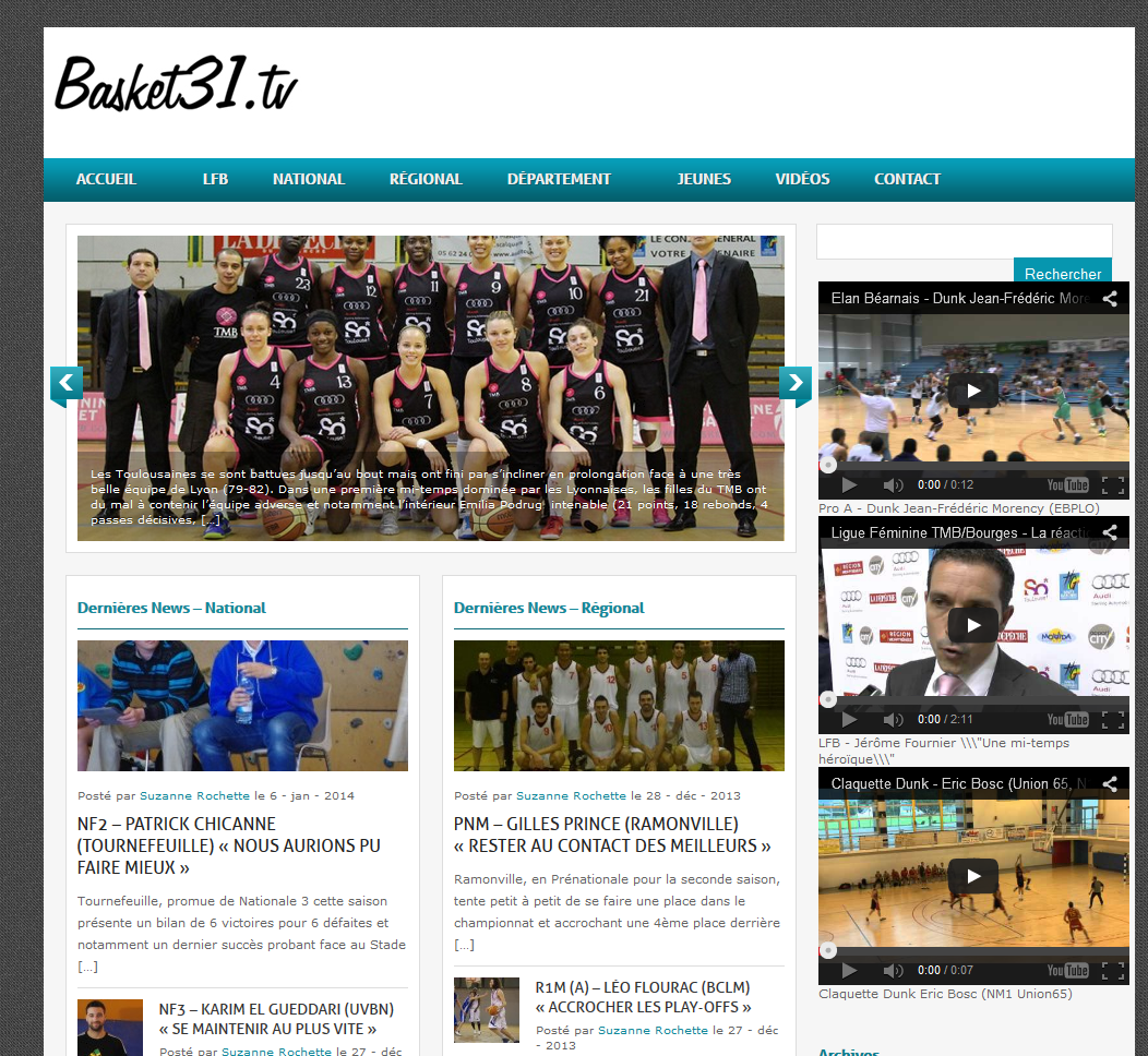 site basket31.tv